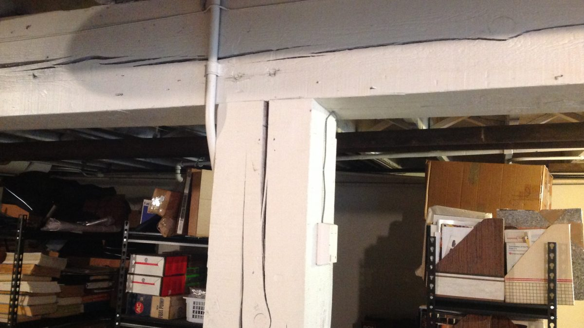 When To Replace Your Basement S Support Posts And Beams Brad
